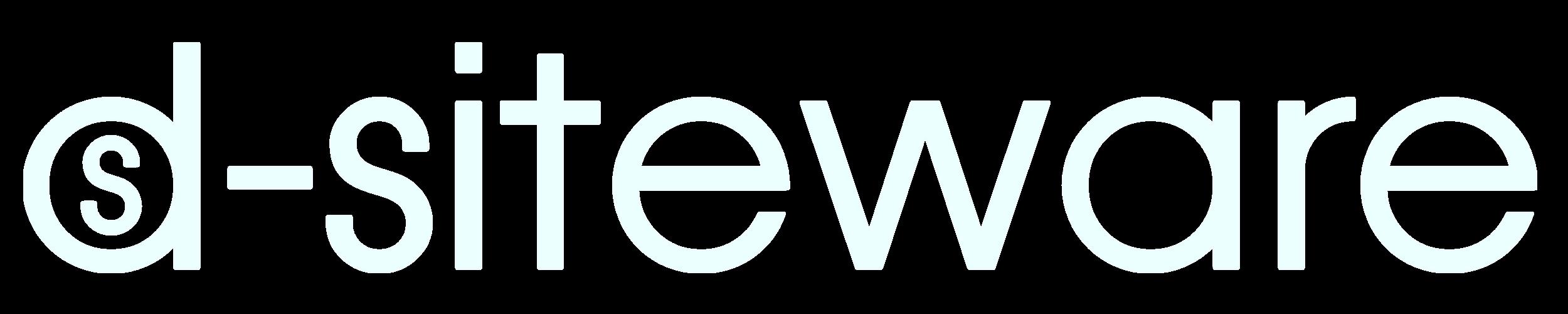 Logo d-siteware weiß